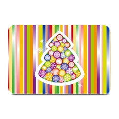 Christmas Tree Colorful Plate Mats