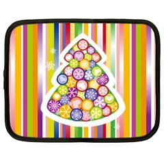 Christmas Tree Colorful Netbook Case (XXL)
