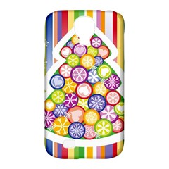 Christmas Tree Colorful Samsung Galaxy S4 Classic Hardshell Case (PC+Silicone)