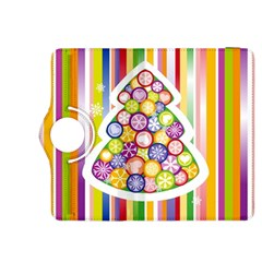 Christmas Tree Colorful Kindle Fire HDX 8.9  Flip 360 Case