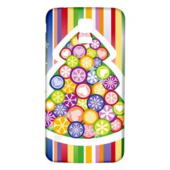 Christmas Tree Colorful Samsung Galaxy S5 Back Case (White)