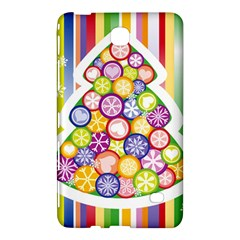 Christmas Tree Colorful Samsung Galaxy Tab 4 (8 ) Hardshell Case