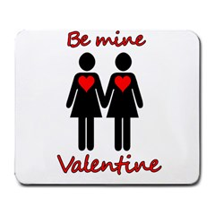 Be my Valentine 2 Large Mousepads