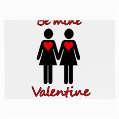 Be my Valentine 2 Large Glasses Cloth (2-Side)