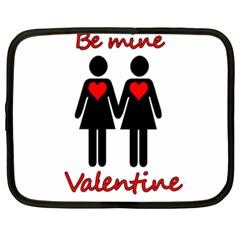 Be my Valentine 2 Netbook Case (XXL)