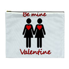 Be my Valentine 2 Cosmetic Bag (XL)