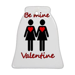 Be my Valentine 2 Bell Ornament (2 Sides)
