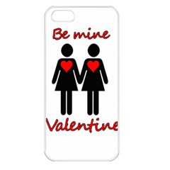 Be my Valentine 2 Apple iPhone 5 Seamless Case (White)