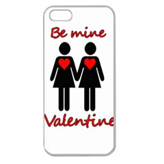 Be my Valentine 2 Apple Seamless iPhone 5 Case (Clear)
