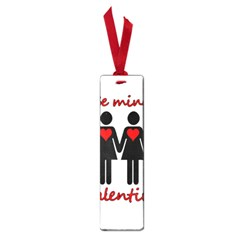 Be my Valentine 2 Small Book Marks