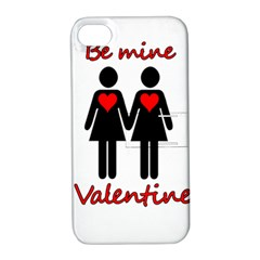 Be my Valentine 2 Apple iPhone 4/4S Hardshell Case with Stand