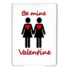 Be my Valentine 2 iPad Air Hardshell Cases