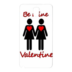 Be my Valentine 2 Samsung Galaxy Note 3 N9005 Hardshell Back Case