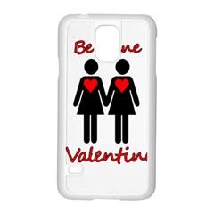Be my Valentine 2 Samsung Galaxy S5 Case (White)