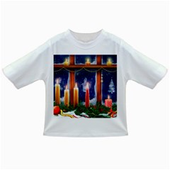 Christmas Lighting Candles Infant/Toddler T-Shirts