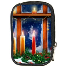 Christmas Lighting Candles Compact Camera Cases