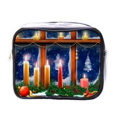 Christmas Lighting Candles Mini Toiletries Bags