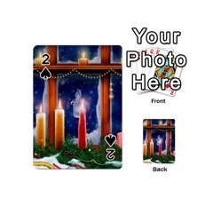 Christmas Lighting Candles Playing Cards 54 (Mini)