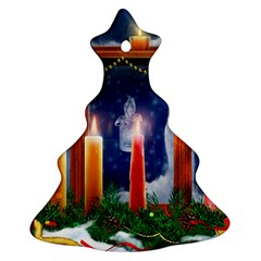 Christmas Lighting Candles Ornament (Christmas Tree)