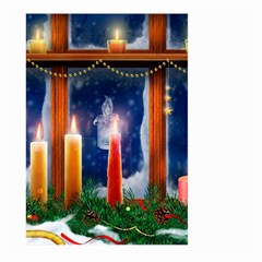 Christmas Lighting Candles Large Garden Flag (Two Sides)