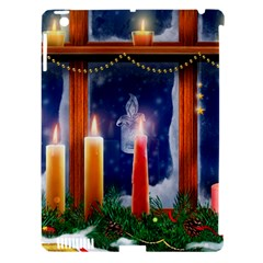 Christmas Lighting Candles Apple iPad 3/4 Hardshell Case (Compatible with Smart Cover)