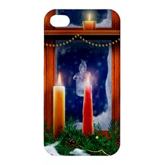 Christmas Lighting Candles Apple iPhone 4/4S Premium Hardshell Case