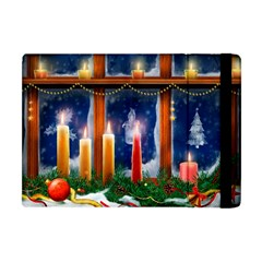 Christmas Lighting Candles Apple iPad Mini Flip Case