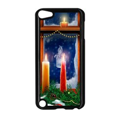 Christmas Lighting Candles Apple iPod Touch 5 Case (Black)