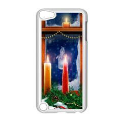 Christmas Lighting Candles Apple iPod Touch 5 Case (White)
