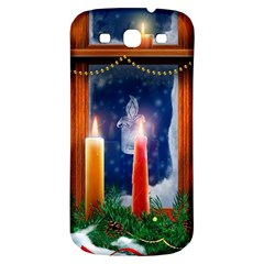 Christmas Lighting Candles Samsung Galaxy S3 S III Classic Hardshell Back Case