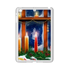Christmas Lighting Candles iPad Mini 2 Enamel Coated Cases