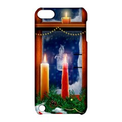 Christmas Lighting Candles Apple iPod Touch 5 Hardshell Case with Stand