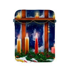 Christmas Lighting Candles Apple iPad 2/3/4 Protective Soft Cases