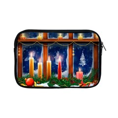 Christmas Lighting Candles Apple iPad Mini Zipper Cases