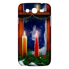 Christmas Lighting Candles Samsung Galaxy Mega 5.8 I9152 Hardshell Case