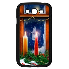 Christmas Lighting Candles Samsung Galaxy Grand DUOS I9082 Case (Black)