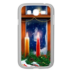 Christmas Lighting Candles Samsung Galaxy Grand DUOS I9082 Case (White)