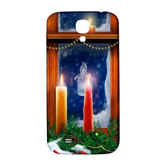 Christmas Lighting Candles Samsung Galaxy S4 I9500/I9505  Hardshell Back Case
