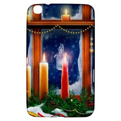 Christmas Lighting Candles Samsung Galaxy Tab 3 (8 ) T3100 Hardshell Case