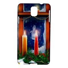 Christmas Lighting Candles Samsung Galaxy Note 3 N9005 Hardshell Case
