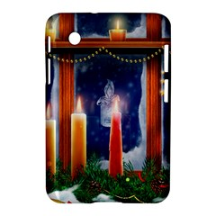 Christmas Lighting Candles Samsung Galaxy Tab 2 (7 ) P3100 Hardshell Case
