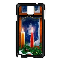Christmas Lighting Candles Samsung Galaxy Note 3 N9005 Case (Black)