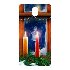 Christmas Lighting Candles Samsung Galaxy Note 3 N9005 Hardshell Back Case