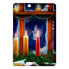 Christmas Lighting Candles Amazon Kindle Fire HD (2013) Hardshell Case