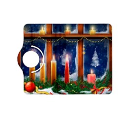Christmas Lighting Candles Kindle Fire HD (2013) Flip 360 Case