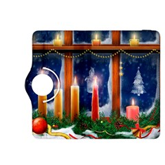 Christmas Lighting Candles Kindle Fire HDX 8.9  Flip 360 Case