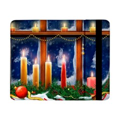 Christmas Lighting Candles Samsung Galaxy Tab Pro 8.4  Flip Case