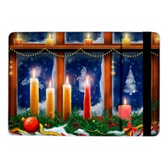 Christmas Lighting Candles Samsung Galaxy Tab Pro 10.1  Flip Case