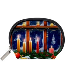 Christmas Lighting Candles Accessory Pouches (Small)