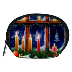Christmas Lighting Candles Accessory Pouches (Medium)